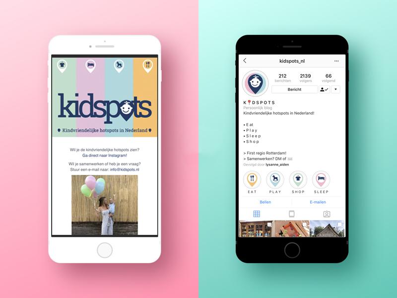 iPhone-Kidspots-social-media